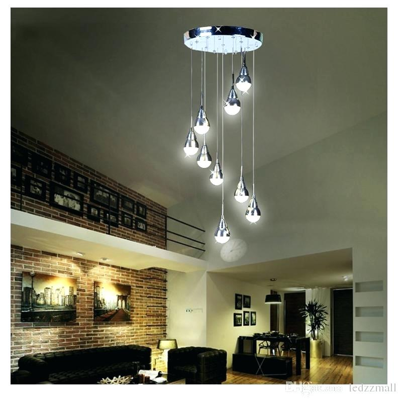 High Ceiling Chandelier Mazrad Constructions Inc